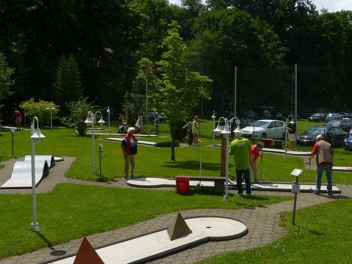 Miniaturgolfanlage Murnau am Staffelsee
